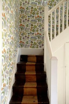 Josef Frank wallpaper/Svenskt Tenn or Just Scandinavian in New York Sydney.  Varlocka Wallpaper