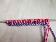 foto maglia tubolare Knitting, Blog, Hobby, Stitches, Cookie, Instagram, Ideas, Fashion, Pink
