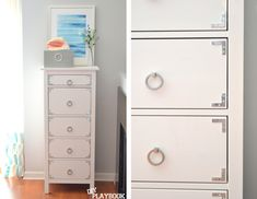 *great and simple hack on the IKEA hemnes dresser. play-by-play at thediyplaybook.com