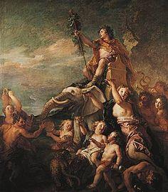 Charles de La Fosse, le Triomphe de Bacchus