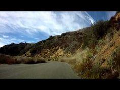 ▶ Cycling in the sky - Camino Cielo in Santa Barbara - YouTube