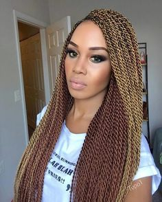 Twist Hairstyle Endearing 40 Senegalese Twist Hairstyles For Black Women  Herinterest