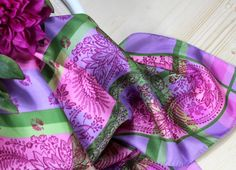 Bad, Fashion, Lilac, Accessories, Silk Shawl, Vibrant Colors, Moda, Fashion Styles, Fashion Illustrations
