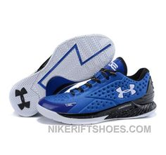 detailed look f58e7 8e9e6 Under Armour Stephen Curry 1 Low Blue Black White Online Pshp5, Price:  $109.00 - Nike Rift Shoes