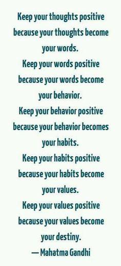 Mahatma Gandhi quote ...