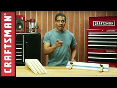 How to Cut Tapered Legs With a Jig | Craftsman - YouTube
