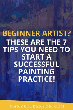 Artists, are you looking for tips on jumpstarting your paintings? Do you feel a creative block when it comes to the art basics (composition, color, and value?) These awesome painting tips are for you! Save this pin and click through to get inspiration for your next artwork.