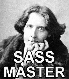 oscar wilde born to be wilde meme - Google Search