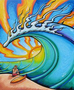 Drew Brophy art is my favorite!!! He's the most rad artist!