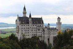 Neoschwanstein Castle in Fussen, Germany