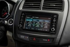 Never miss your favorite jam with 6.1 inches of Touchscreen Audio and 6 speakers on the #OutlanderSport.