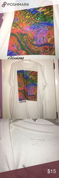 Steve Longo original art tee Awesome art work pictured on the front with a printed signature on the back. This is an original work of art by Steve Longo. Tops Tees - Short Sleeve