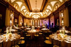 Wedding in the Grand Ballroom at the Belvedere     Baltimore, MD    Merkle Photography