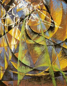 Balla, Giacomo - Mercure passant devant le soleil - Collection Peggy Guggenheim - Mattioli, Venise