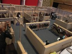 My selfmade stable for Schleich-horses