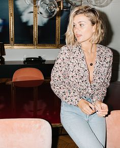 15-lookbook adenorah La Brand Boutique blouse Laurence Bras1