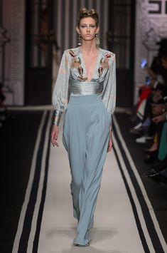 Elisabetta Franchi at Milan Fashion Week Fall 2017 - Runway Photos