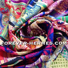 One of the most wanted Hermes Paris scarves, new in store now! http://forever-hermes.com #ForeverHermes is this stunning design, titled Voyage En Etoffes by iconic hermescarre french artist Annie Faivre and depicts a travel in the world of Fabric with a display of fantastic kaftan African Asian robes each with their traditional prints. For the dapper gentleman #menstyle men's fashion men's necktie womenswear women's fashion silk scarf #hermesparis #hermesaddict