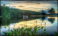 South Cove Sunset,Eastman Lake,Grantham,New Hampshire