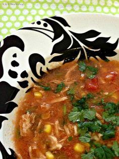 Easy Chicken Cilantro Soup Recipe