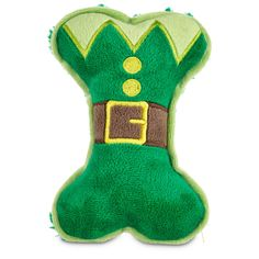 Time+for+Joy+Elf+Plush+Bone+Dog+Toy+-+Bring+your+furry+friend+some+glad+tidings+with+the+Time+for+Joy+Elf+Plush+Bone+Dog+Toy.+This+stuffed+dog+toy+squeaks+and+crinkles+when+your+pup+squeezes+it+with+mirth+and+merriment. - http://www.petco.com/shop/en/petcostore/product/time-for-joy-elf-plush-bone-dog-toy