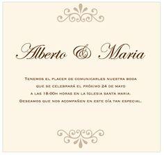 Tipografías para bodas {1}: Estilo clásico