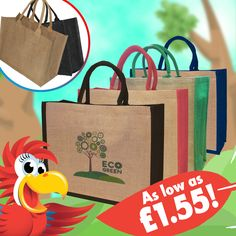#summersolstice I can confirm that you... are the Father of the Solstice Jute Shopper. A great bag for the summer and any shopping excursion! http://www.promoparrot.com/large-jute-shopper.html #promo #totebag