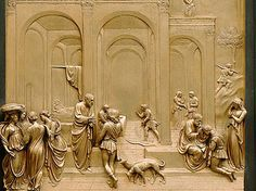#ArtMobile East Door, Florence Baptistry. Lorenzo Ghiberti. Porta Est del Battistero di Firenze, Lorenzo Ghiberti.