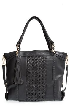 Sole Society Oversize Woven Tote available at #Nordstrom