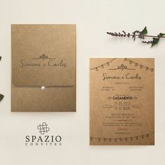 Convite de Casamento em Mogi das Cruzes, Campinas São Paulo. #wedding #krafit #novo #baixar #convites #loja #noiva #top #meiaperola #cute #casar #love #amor #wedding #bride