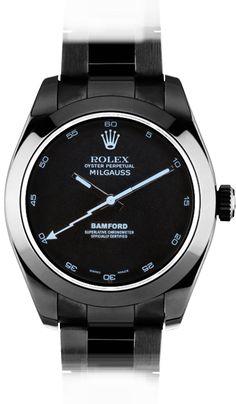 Bamford Watch x Rolex Milgauss Sonar Klockor För Män bc53f14986671