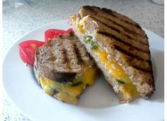 Jane's jalapeno grilled cheese