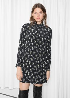 & Other Stories | Buttoned Floral Dress