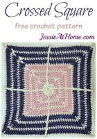 Crossed Square by Jessie At Home - Block #4 in the Moogly Afghan CAL for 2017!