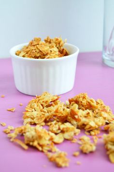 Orange Blossom Honey Granola