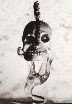 """Claude Cahun """"Untitled"""" (Skull and Glass) 1936"""