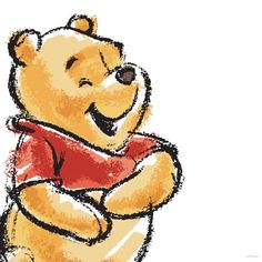 Ever since I was little I have loved Winnie the Pooh. He is just such a silly character that relates to young kids so well. He is also so wise which is why today I still love him so much. Winnie the Pooh is so friendly he's such a good role model for Winnie The Pooh Drawing, Winnie The Pooh Pictures, Cute Winnie The Pooh, Winne The Pooh, Winnie The Pooh Quotes, Winnie The Pooh Friends, Disney Kunst, Arte Disney, Disney Art