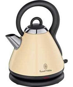 our matching cream kettle - Russell hobbs heritage Cooking Appliances, Small Kitchen Appliances, Traditional Kettles, Kettle And Toaster, Russel Hobbs, Moving House, Kitchen Colors, Kitchen Ideas, Shopping