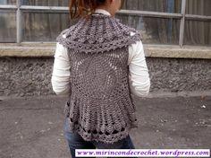 Chalecos circulares | Mi Rincon de Crochet | Página 6