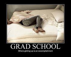 Death by grad school