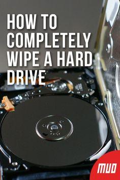 How to Completely Wipe a Hard Drive HardDrive Reset FactoryReset Delete Computer Hardware 599189925408829035 Computer Shortcut Keys, Computer Diy, Life Hacks Computer, Computer Basics, Computer Internet, Computer Security, Computer Repair, How To Clean Computer, Computer Hacking