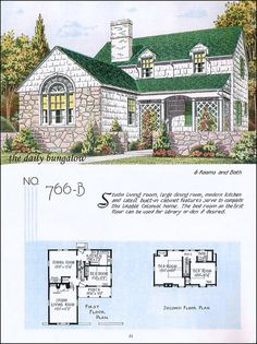 The 1928 Daphne - Modern English - Face Brick - Home Builders ...