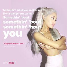 Ariana Grande - Dangerous Woman Lyrics #ArianaGrande #DangerousWoman #Lyrics