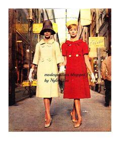 A la Recherche des Modes Perdues et Oubliées: ELLE - 4 mars 1960 *