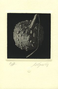 Technique: Etching-Mezzotint  Year: 2008  Size: 110x100mm  by ~mgruev