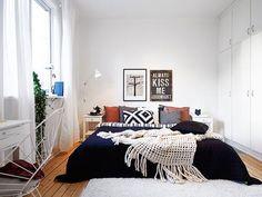 gaat om plaats te besparen of geld te besparen, soms is een bed zonder ...