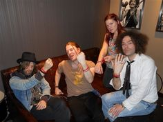 Dandy Warhols.  Hard Rock LIVE Las Vegas Strip.  WHY Campaign.  End World Hunger.  Bracelets.  Band.  Music.