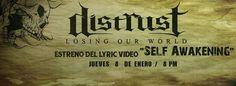 """Cresta Metálica Producciones » DISTRUST estrenará su segundo tema promocional """"Self Awakening"""" de su álbum Losing Our World"""