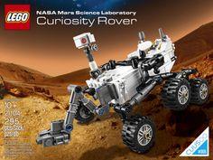 Mars Curiosity Rover Lego set. I want this so bad