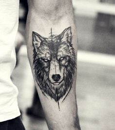 2017 trend Tattoo Trends - 40 Masculine Wolf Tattoo Designs For Men... Check more at https://tattooviral.com/tattoo-designs/tattoo-trends-40-masculine-wolf-tattoo-designs-for-men-5/